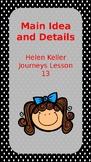 Journeys Lesson 13 Main Idea