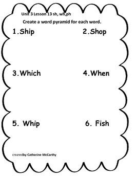 Journeys Lesson 13 Spelling