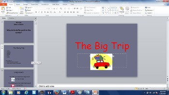Journey's Lesson 16 The Big Trip