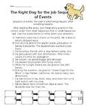 Journeys Lesson 16 - The right dog for the job sequence of events activity