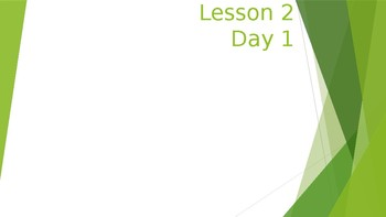 Journeys Lesson 2 PowerPoint