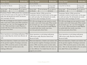 Journeys Lesson 20 Dex the heart of a Hero Guided Reading lesson plans