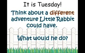 Journey's 1st Grade Lesson 20 Little Rabbit's Adventure PowerPoint
