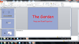 Journeys Lesson 21- Frog and Toad The Garden
