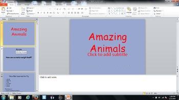Journeys Lesson 22- Amazing Animals
