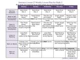 Journeys Lesson 27 Reader's Workshop Weekly Lesson Plan