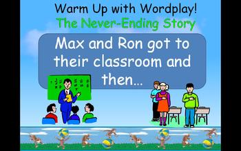 Journey's 1st Grade Lesson 3 Curious George at School Powerpoint