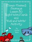 Journeys Lesson 30 Kindergarten Sight Words {Ocean Themed}