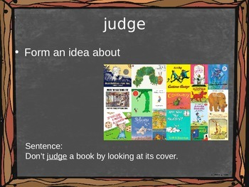 Journeys Lesson 4 - The Diary of a Spider Vocabulary PowerPoint