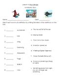 Journeys Lesson 4 Vocabulary Quiz Pop's Bridge