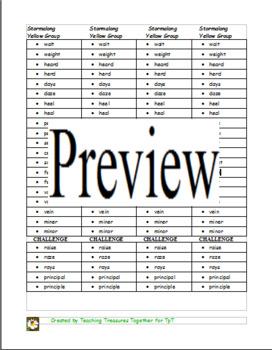 Journeys Lesson 5 Spelling List - Stormalong