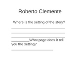Journeys Lesson 5 grade 3 Roberto Clemente