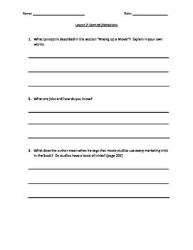 Journeys Lesson 7 Comprehension Questions