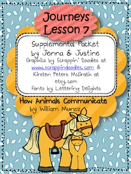 Journeys Lesson 7- How Animals Communicate