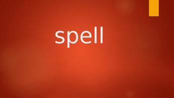Journeys Lesson 7 Spelling Words