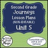 Journeys Lesson Plans 2nd Grade Unit 5