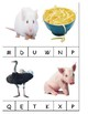 Journeys Letter Recognition and Sounds Clip Activity
