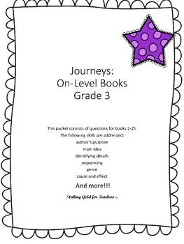 Journeys: Leveled Books/Grade 3/On Level
