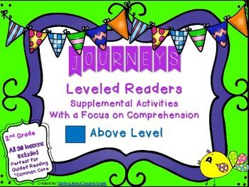 Journeys Leveled Reader Resource- Above Level