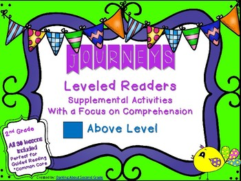 Journeys Leveled Readers Worksheets & Teaching Resources | TpT