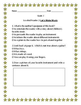Journeys Grade 2 Leveled Readers Remedial