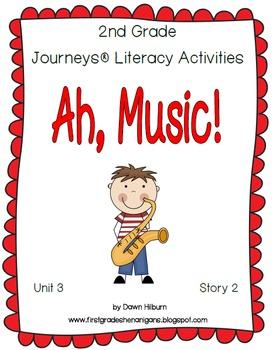 Journeys® Literacy Activities - Ah, Music! - Grade 2