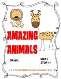 Journeys®  Literacy Activities - Amazing Animals - Grade 1