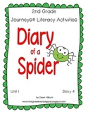 Journeys® Literacy Activities - Diary of a Spider - Grade 2
