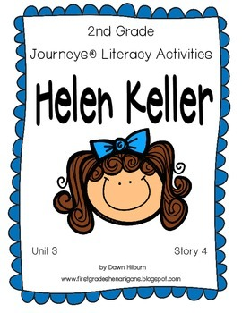 Journeys® Literacy Activities - Helen Keller - Grade 2
