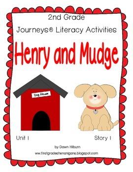 Journeys® Literacy Activities - Henry and Mudge - Grade 2
