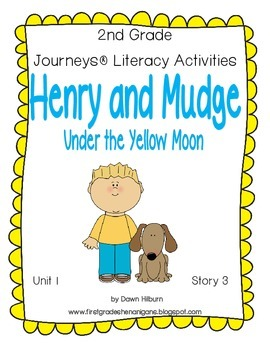 Journeys® Literacy Activities - Henry and Mudge Under the