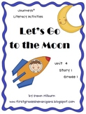 Journeys®  Literacy Activities - Let's Go to the Moon - Grade 1