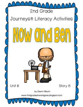 Journeys® Literacy Activities - Now and Ben- Grade 2