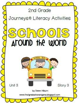 Journeys® Literacy Activities - Schools Around the World - Grade 2