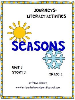Journeys® Literacy Activities -Seasons- Grade 1