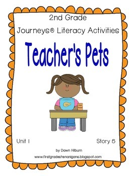 Journeys® Literacy Activities - Teacher's Pets - Grade 2