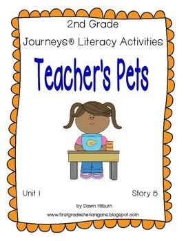 Journeys® Literacy Activities - Teacher's Pets - Grade 2