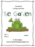 Journeys® Literacy Activities - The Garden - Grade 1