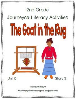 Journeys® Literacy Activities - The Goat in the Rug- Grade 2