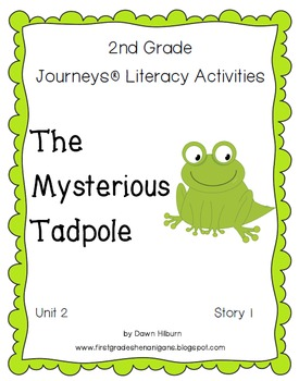 Journeys® Literacy Activities -The Mysterious Tadpole - Grade 2