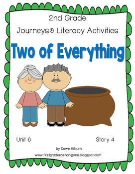 Journeys® Literacy Activities -Two of Everything - Grade 2