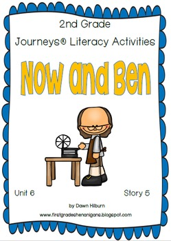 Journeys® Literacy Activities - Unit 6 Bundle- Grade 2