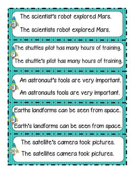 Journeys® Literacy Activities - Working in Space - Grade 2