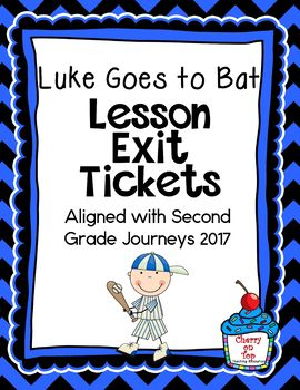 Journeys-Luke Goes to Bat Exit Tickets