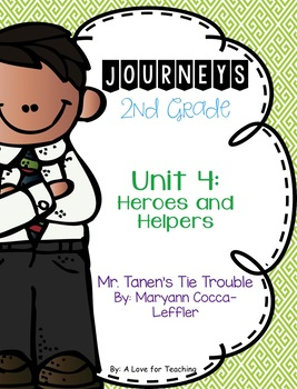 Journeys Mr. Tanen's Tie Trouble {Editable}
