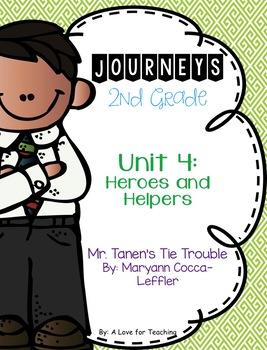 Journeys Mr. Tanen's Tie Trouble {Editable}