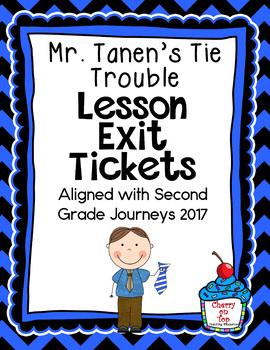 Journeys-Mr. Tanen's Tie Trouble Exit Tickets