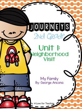 Journeys My Family Grade 2 {Editable}