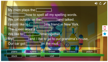 Journeys My Family Vocabulary Smart Lab Interactive Whiteboard Activities