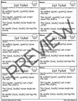 Journeys- Now & Ben Exit Tickets